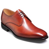 Barker Flex Shoes - Thornton - Derby Style - Rosewood Calf