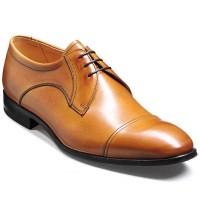 Barker Flex Shoes - Tilbury Derby Style - Cedar Calf