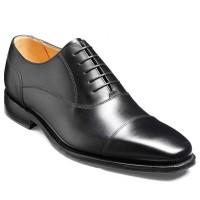 Barker Flex Shoes - Trent - Toe Cap Style - Black Calf