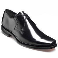 Barker Shoes - Clarke - Square Toe - Black Hi-Shine