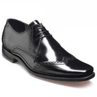 Barker Shoes - Drake - Square Toe - Black Hi-Shine