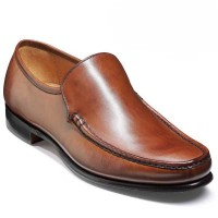 Barker Shoes - Torquay Moccasin - Brown Burnished Calf