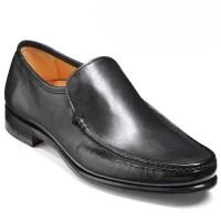 Barker Shoes - Torquay Moccasin Loafer - Black Calf