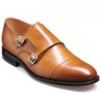 Barker Shoes - Tunstall - Double Monk Strap - Cedar Calf