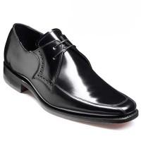 Barker Shoes - Wilson - Square Toe - Black Hi-Shine