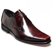 Barker Shoes - Wilson - Square Toe - Brandy Hi-Shine