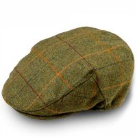 Alan Paine - Compton Cap - Landscape Green Tweed