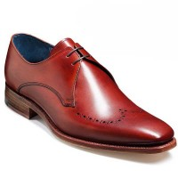 Barker Shoes - Ewan - Derby Style - Rosewood Calf