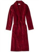 Derek Rose - Triton Cotton Towelling Dressing Gown - Wine