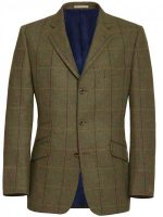 NEW - Magee Men's Jacket - 3 Button Country Check