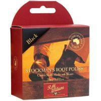 RM Williams Stockmans Boot Polish - Black