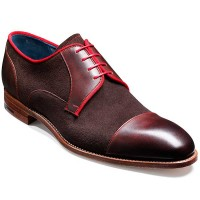 Barker Shoes - Butler - Derby Style - Brown Calf & Suede