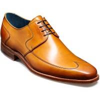 Barker Shoes - Herbert - Derby Wingtip - Cedar Calf