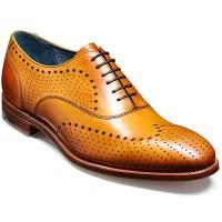 Barker Shoes - Truman - Punched Brogue - Cedar Calf