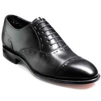 Barker Shoes - Warminster - Toe cap oxford - Black Calf