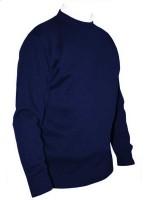 Franco Ponti Crew Neck Sweater - Cobalt Blue