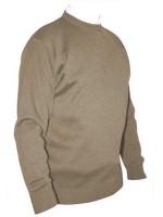 Franco Ponti Crew Neck Sweater - Fawn