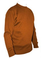 Franco Ponti Crew Neck Sweater - Orange