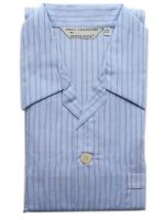 Derek Rose - Jermyn Cotton Pyjamas - Multi Blue Stripe