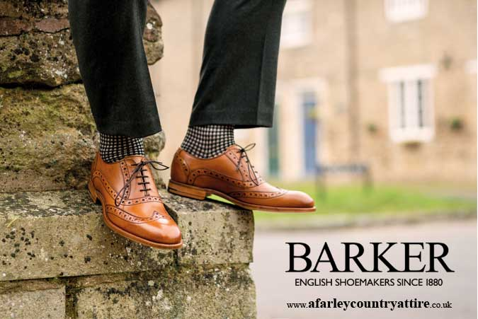 Get The Look: Grant Full Brogue by Barker Shoes