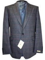 NEW - Magee Men's Jacket - K2 Blue Herringbone & Check