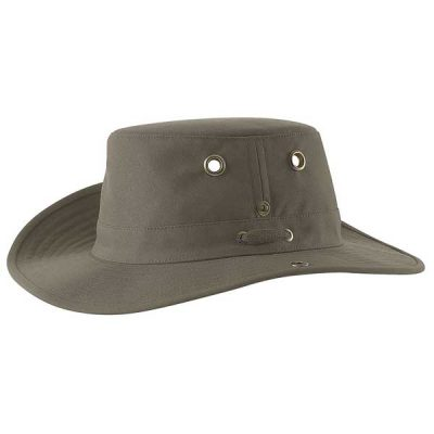 Tilley Hats - T3 Snap-Up Brim Cotton Duck - Olive