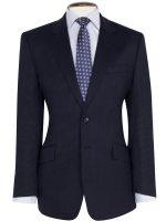 Brook Taverner - Navy Birdseye Suit - Dawlish Classic Fit