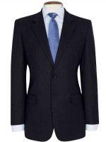 Brook Taverner - Navy Stripe Suit - Cromford Classic Fit
