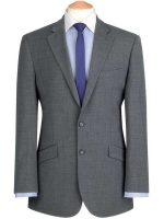 Brook Taverner - Grey Travel Suit - Avalino - Tailored Fit