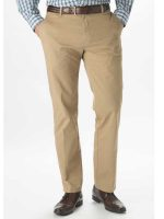 Brook Taverner Trousers - Denver - Stretch Chino - Sand