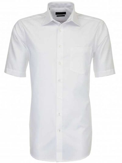 Seidensticker Shirts - Short Sleeve Splendesto - White