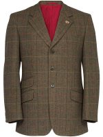 Alan Paine - Compton Action Back Blazer - Peat