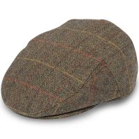 Alan Paine - Compton Tweed Cap - Peat