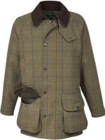Alan Paine - Rutland Waterproof Shooting Coat - Dark Moss