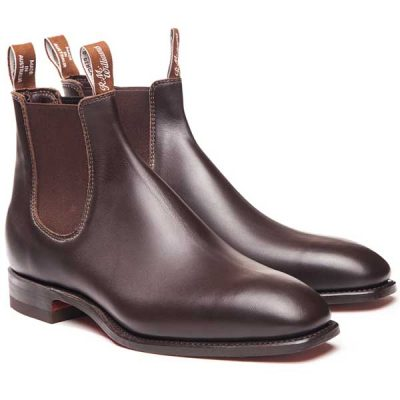 RM Williams Dynamic Flex Comfort Craftsman Boots - Chestnut