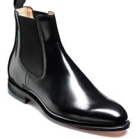 Barker Shoes - Bedale - Chelsea Boots - Black Hi-Shine