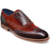 Barker Shoes - Grant - Walnut & Creole Moonrock