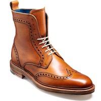 Barker Shoes - Hockney Brogue Boot - Cedar Grain