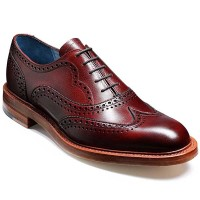 Barker Shoes - Indiana - Oxford Brogue - Cherry Grain