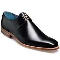 Barker Shoes - Kurt Black Calf / Natural Edges