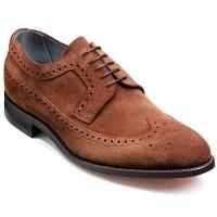 NEW!! Barker Shoes - Woodbridge Brogue - Castagnia Suede