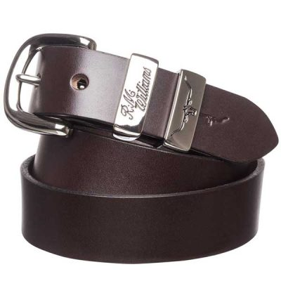 "RM Williams - 1.25"" Leather 3 Piece Belt Solid Hide"
