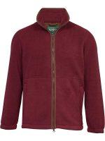 Alan Paine - Aylsham Gents Fleece Jacket - Bordeaux
