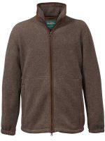 Alan Paine - Aylsham Gents Fleece Jacket - Brown
