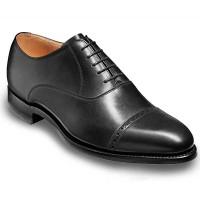 Barker Shoes - Burford - Oxford - Black Calf