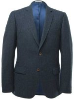 Magee Three Piece Suit - Donegal Tweed - Blue