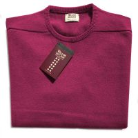 William Lockie - Leven 2 Ply Lambswool Crew Neck - Vegas