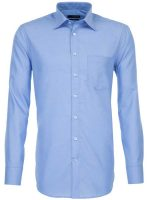 Seidensticker Blue Shirt - Classic Splendesto Pure Cotton