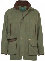 Alan Paine - Compton Waterproof Membrane Shooting Coat - Lovat Tweed