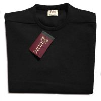 William Lockie - Oxton Cashmere Crew Neck - Black